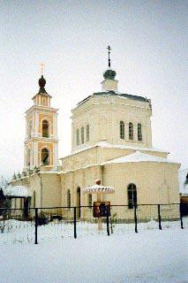 храм Преображения Господня, c. Вельяминово
